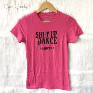 Coyote Ugly Tops - 🔃Coyote Ugly Pink Short Sleeve Tee Shirt